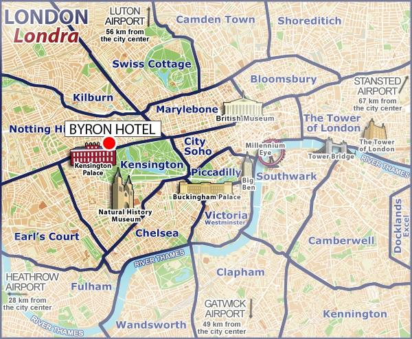 Location byron hotel london for 36 38 queensborough terrace